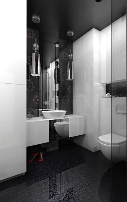Kamar Mandi Modern Oleh ZAZA studio Modern
