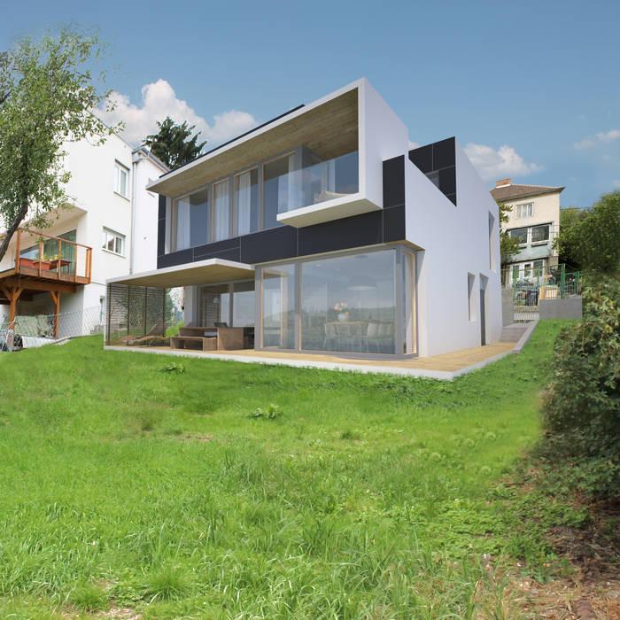 Houses by AL ARCHITEKT -  in Wien