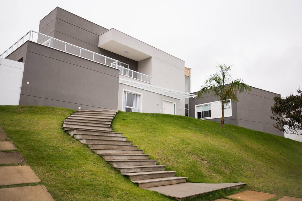 L2 Arquitetura บ้านและที่อยู่อาศัย คอนกรีต Grey