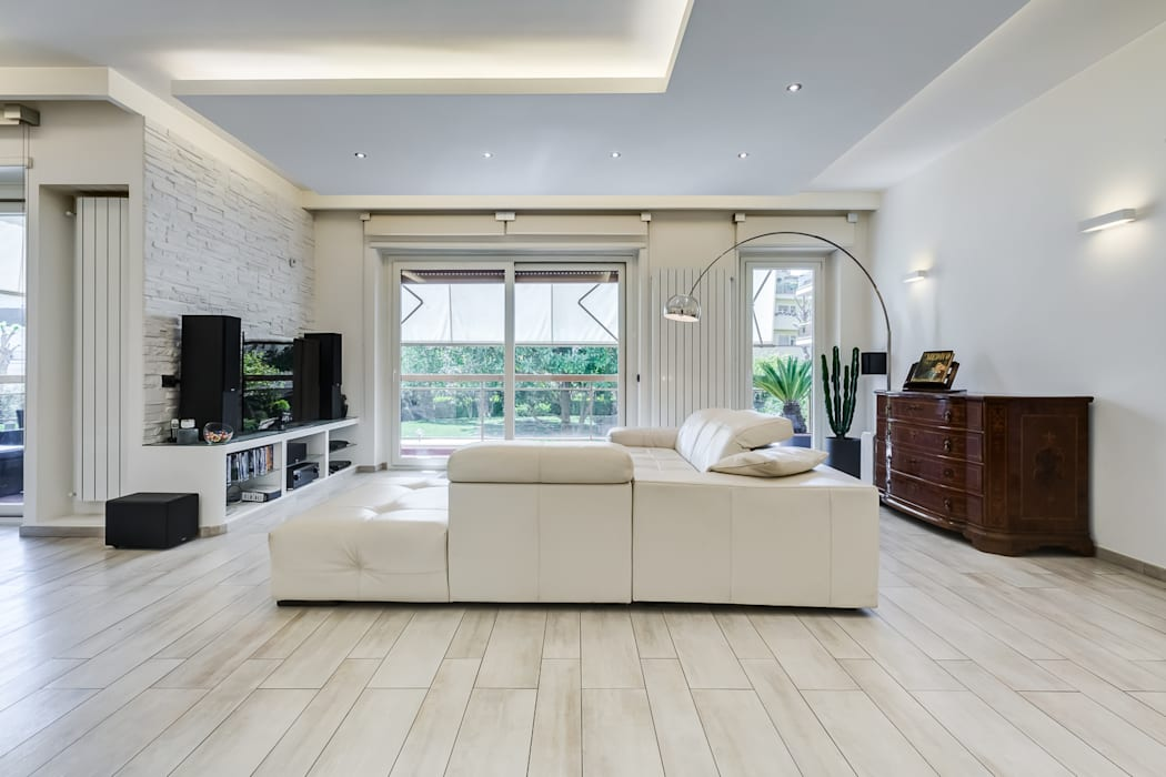 Modern Living Room by EF_Archidesign Modern