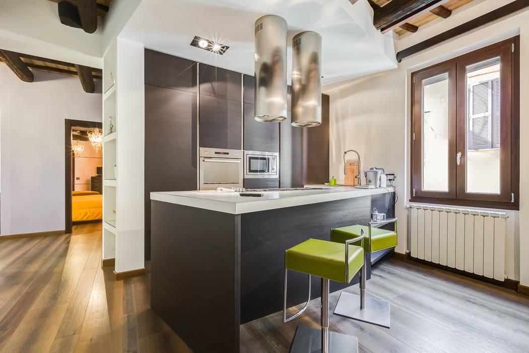 Cocinas de estilo moderno de EF_Archidesign Moderno