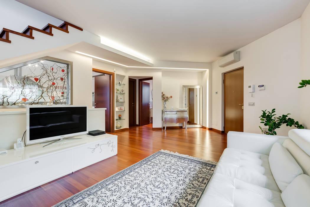 Salas de estar  por EF_Archidesign, Moderno