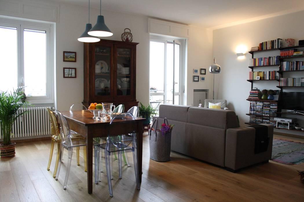 Casa dei colori sala da pranzo in stile di studio for Colori per pareti sala da pranzo