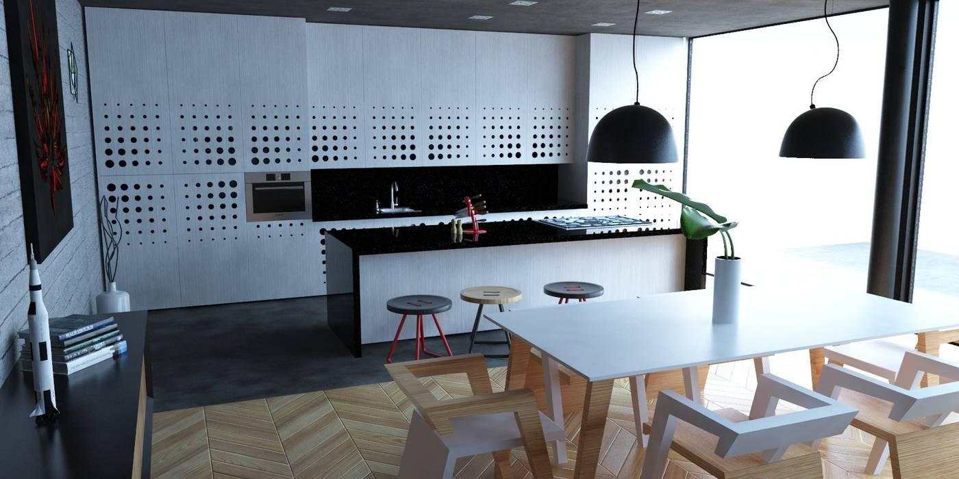 Kitchen by Eidética, Modern