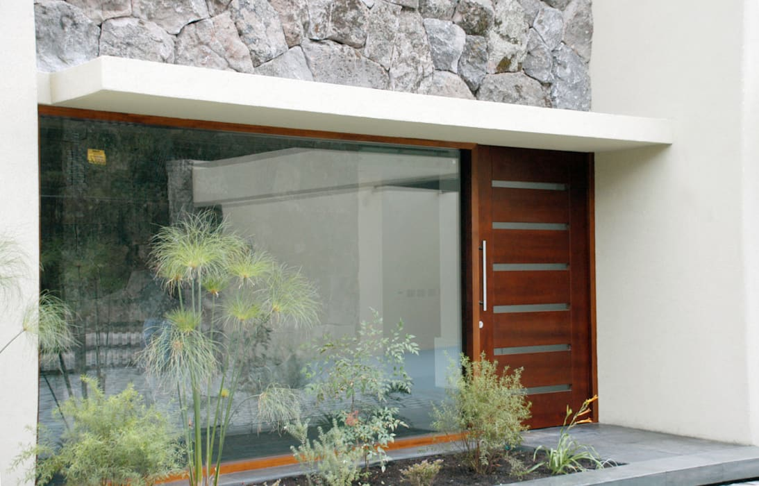 Puerta modelo Piamonte Puertas y ventanas de estilo moderno de Ignisterra S.A. Moderno Madera Acabado en madera
