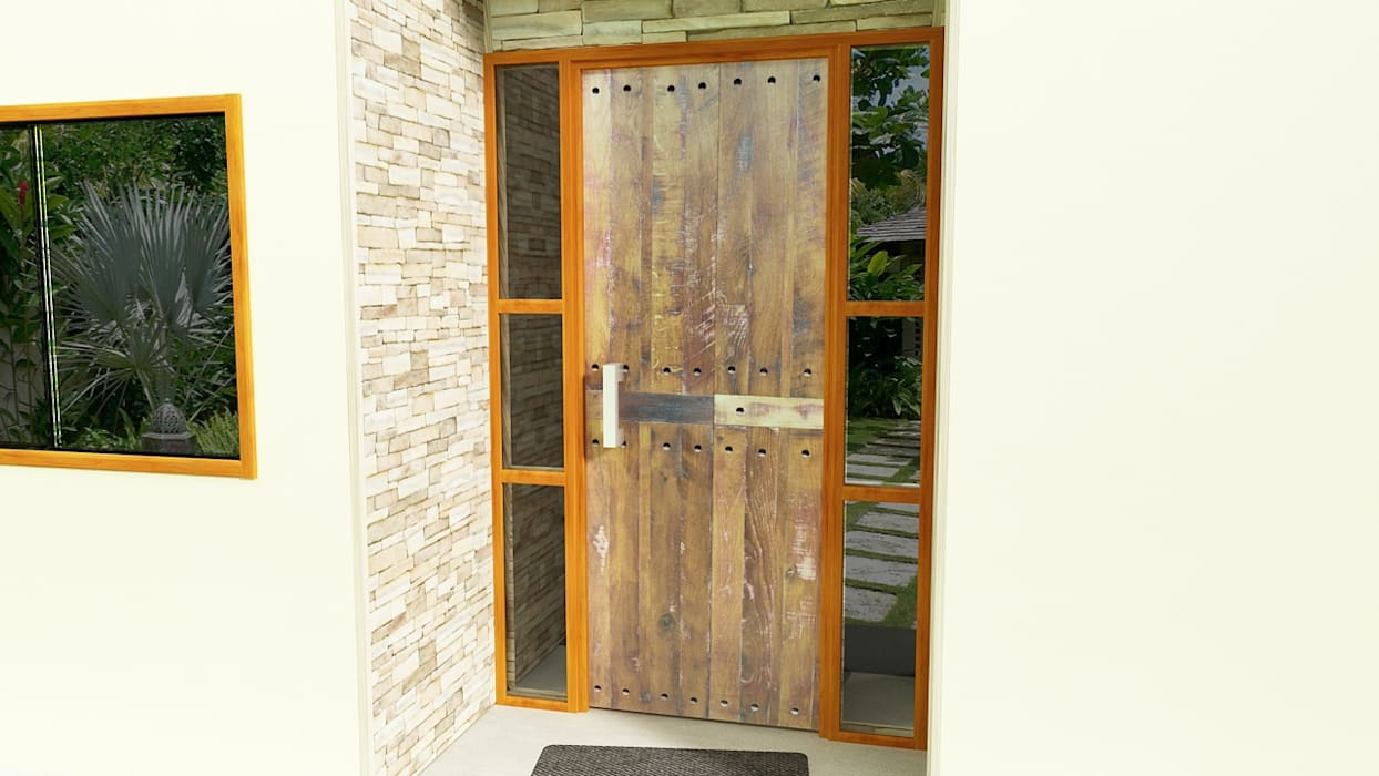 Windows by Ignisterra S.A., Rustic Wood Wood effect
