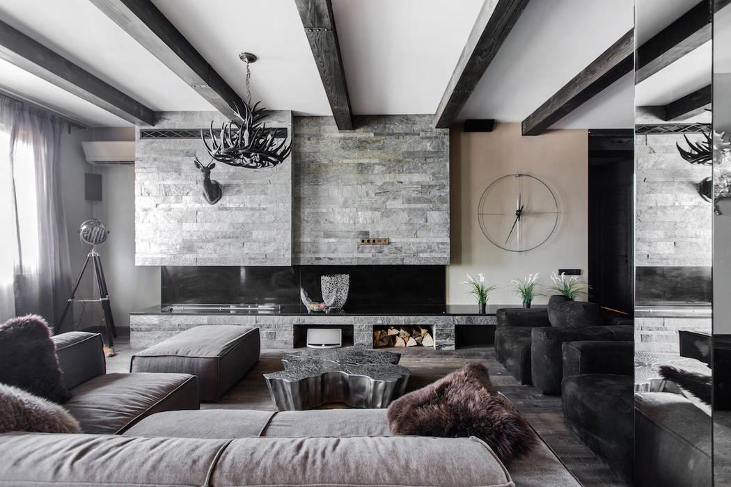 Living room by Дизайн Мира