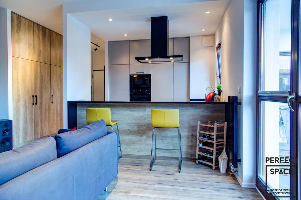 Küche von Perfect Space, Industrial