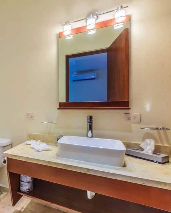 Natureflow® BathroomDecoration Kayu