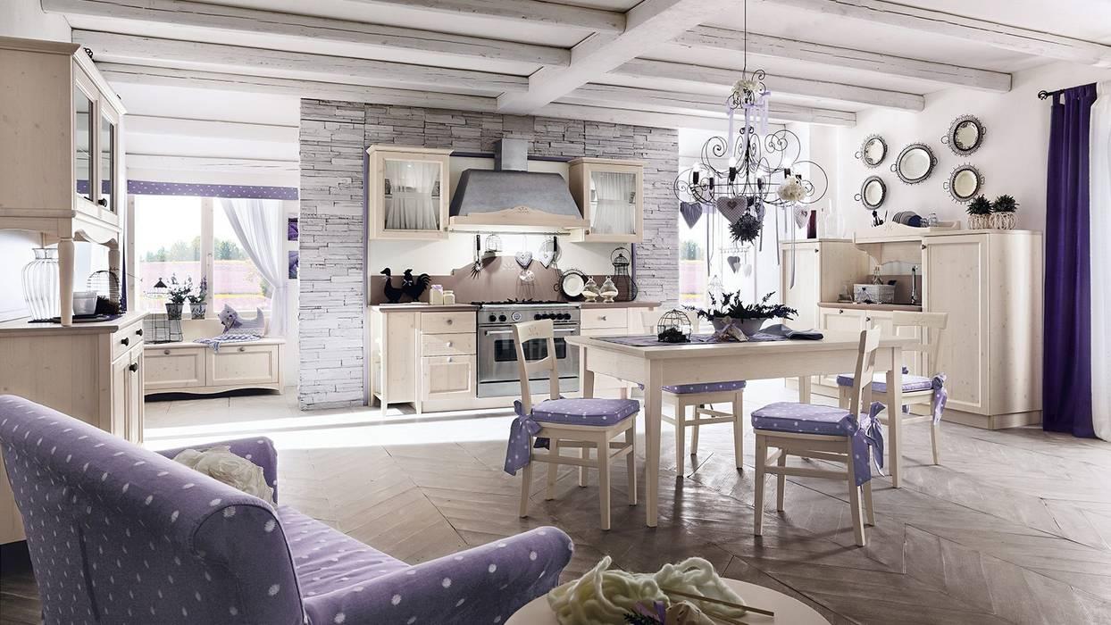 Modern-Country Kitchen Casa Più Arredamenti