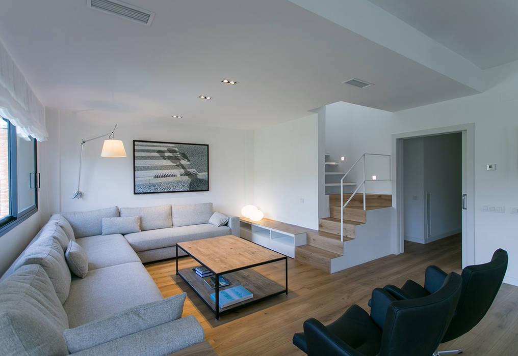 Гостиная в . Автор – dom arquitectura, Минимализм