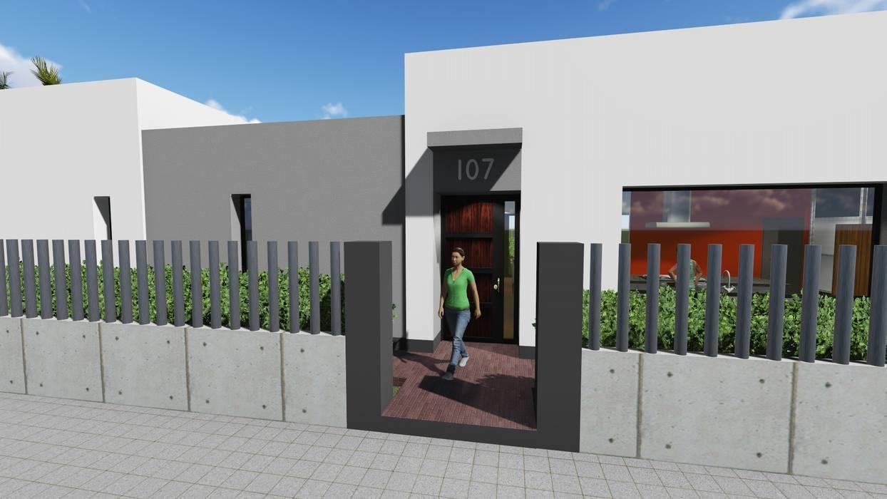 ARQUISURLAURO S.L.P. Rumah Modern