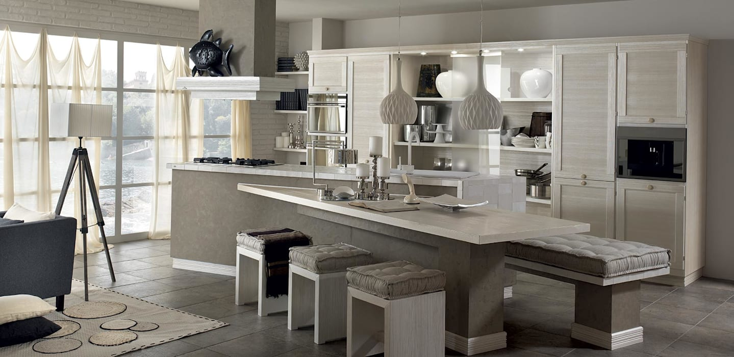 contemporary kitchen by casa pi arredamenti homify