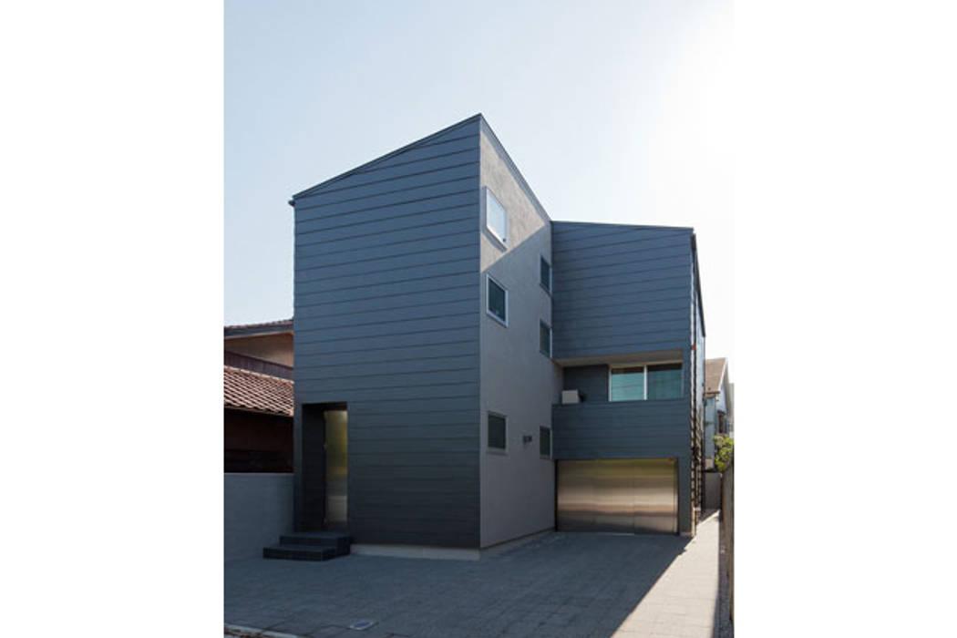 スキップフロアの家: 株式会社Fit建築設計事務所が手掛けた家です。
