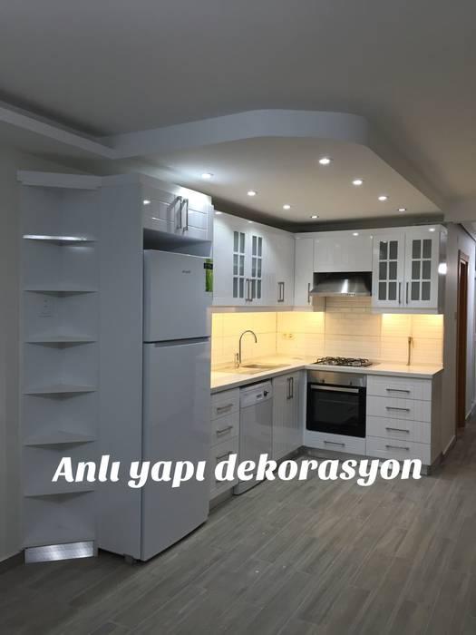anlı yapı dekorasyon anlı yapı dekorasyon MutfakMutfak Tezgâhları Beyaz