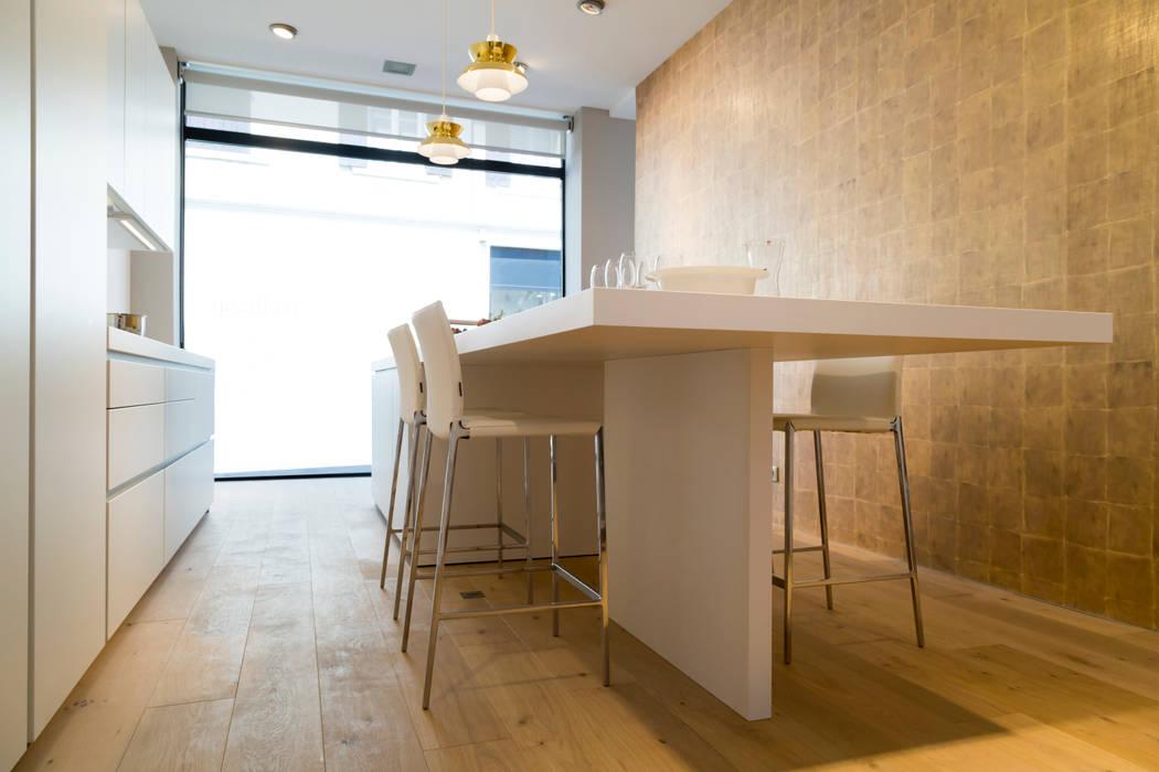 cuisine b1: Cuisine de style de style Minimaliste par étoile architecture intérieure