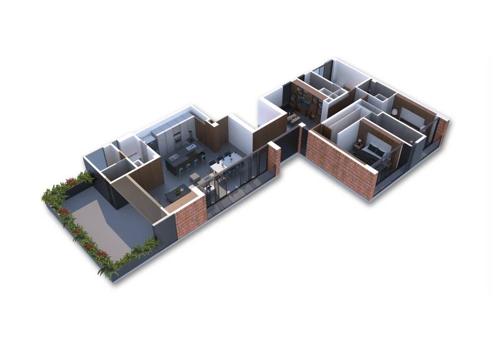 Multifamiliar EC2956 IX2 arquitectura
