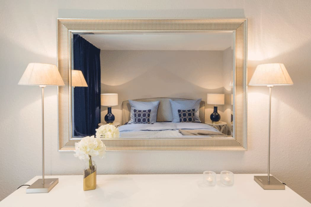 Stimmungsvolles, gemütliches schlafzimmer : schlafzimmer von ...