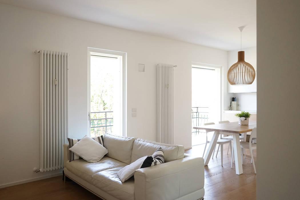 Appartamento R+R Andrea Gaio Design Soggiorno moderno