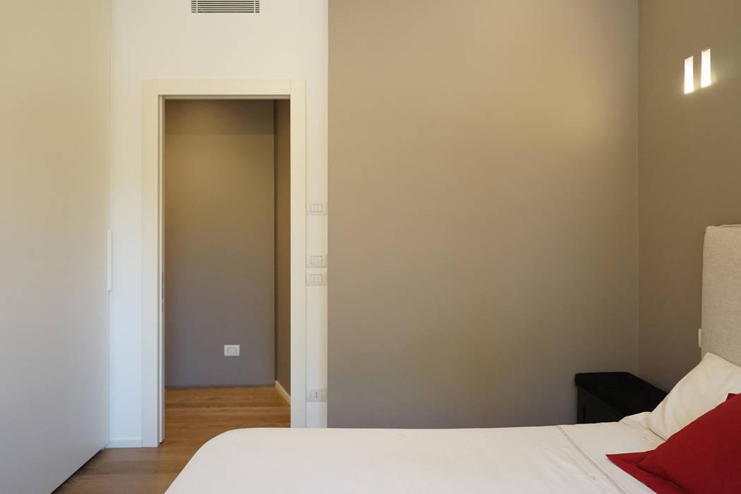 Appartamento R+R Andrea Gaio Design Camera da letto moderna