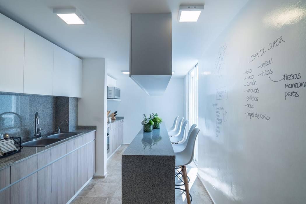 Dapur Modern Oleh HO arquitectura de interiores Modern