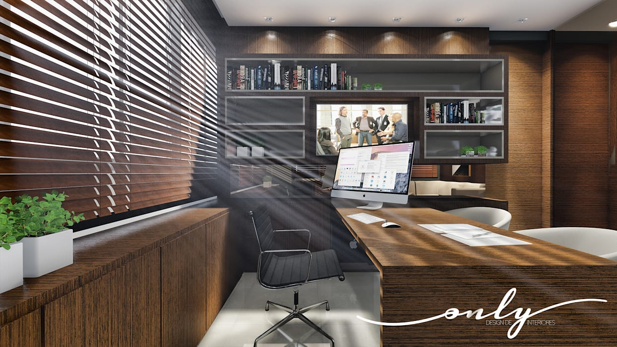 Study/office by Only Design de Interiores