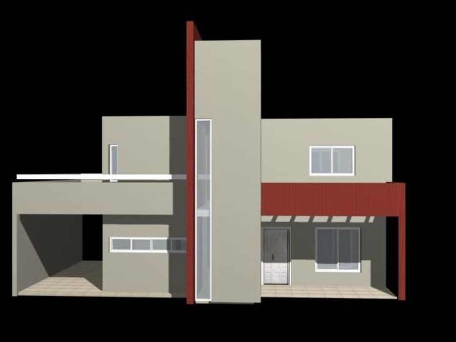 Manantiales: Casas de estilo  por ARQUITECTA CARINA BASSINO