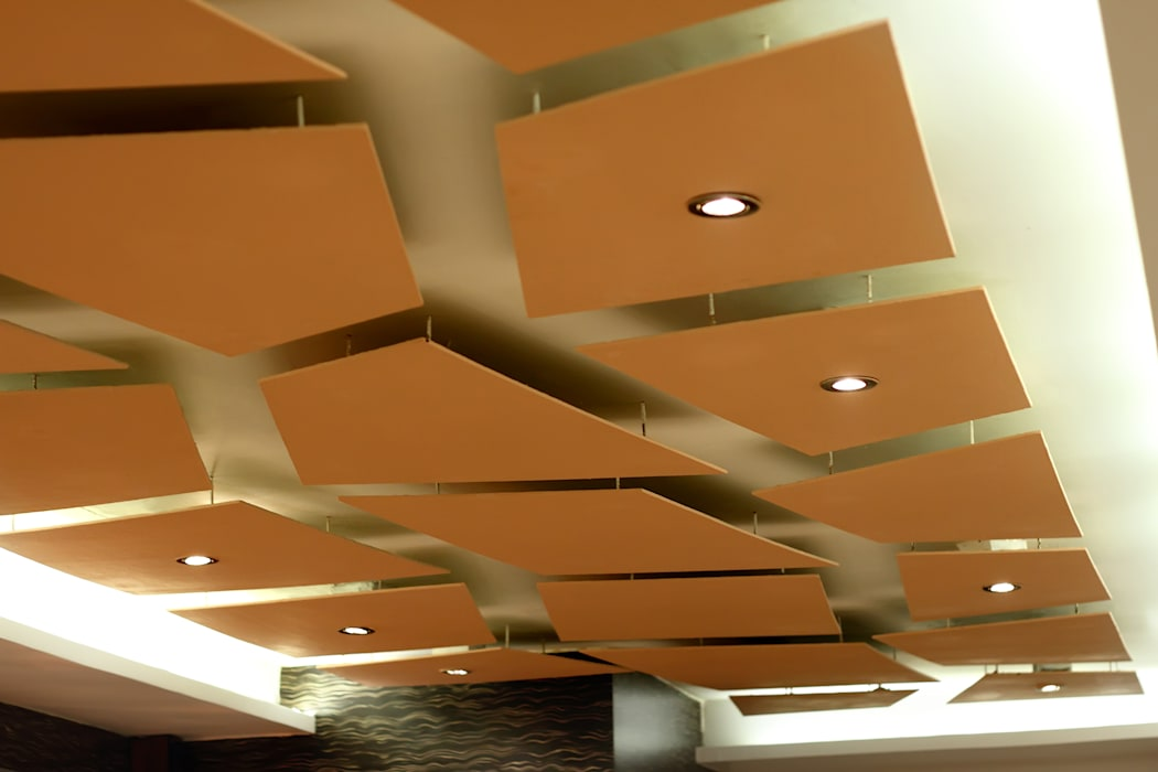 Ceiling details:  Hotels by SS Designs