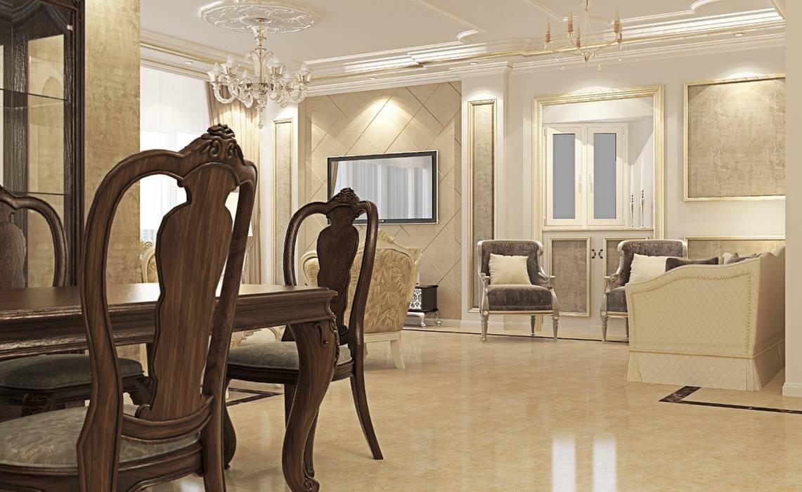 Ruang Keluarga oleh Boly Designs, Klasik