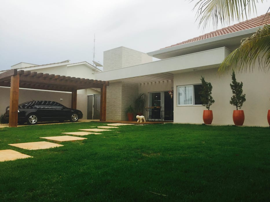 Rumah by au cubo arquitetura