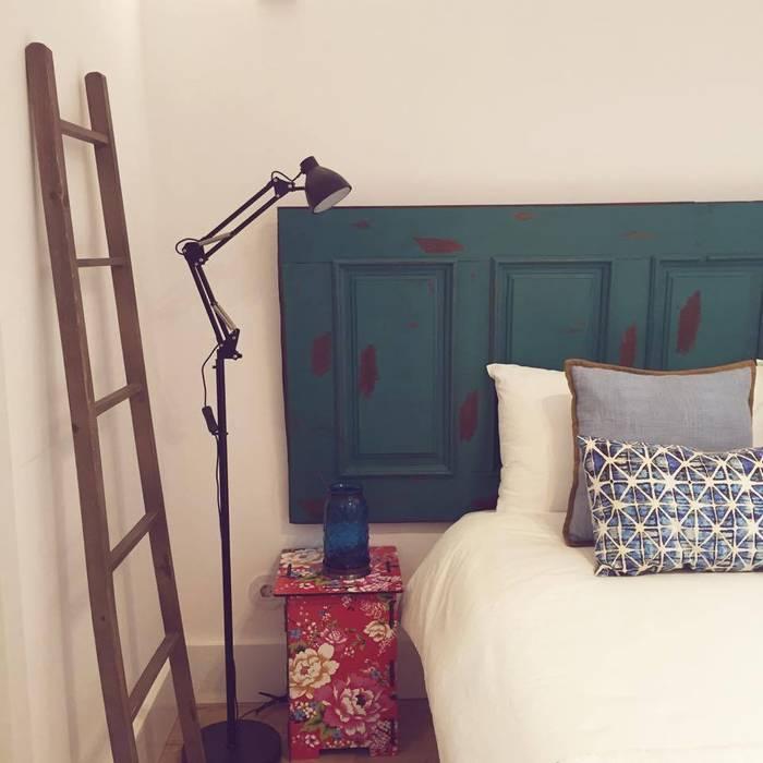 Quarto_Remodelação Apartamento_Ajuda | Lisboa PT por OW ARQUITECTOS lda | simplicity works Minimalista Madeira maciça Multicolor