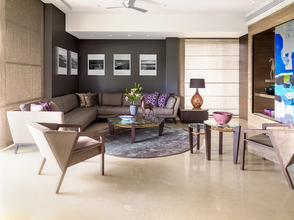 Fabien Charuau - Architectural and Interiors Photography - Recent Projects:  Living room by Fabien Charuau Photography