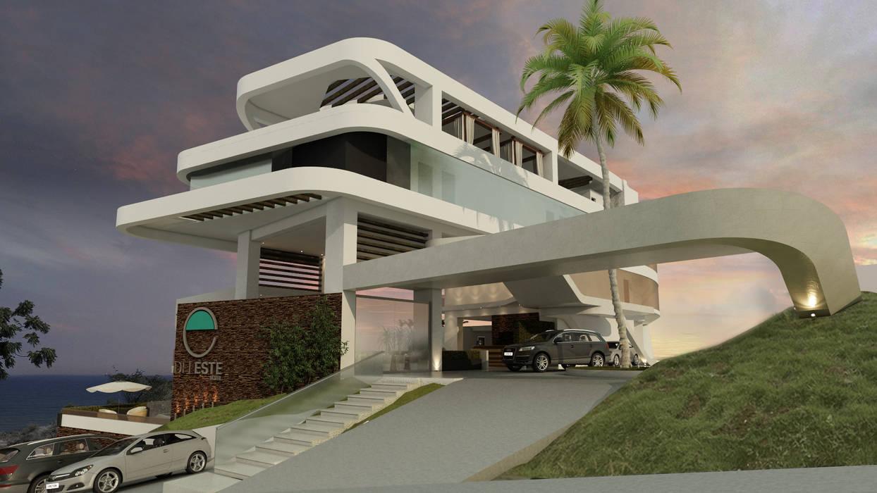 ESTES HOTEL Casas modernas de NOGARQ C.A. Moderno