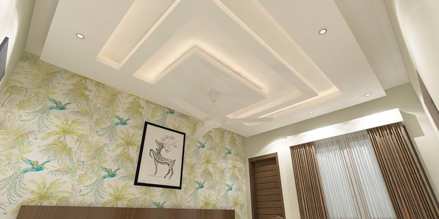 Surprising Bedroom False Ceiling Modern By Ghar360 Modern Homify Interior Design Ideas Gresisoteloinfo