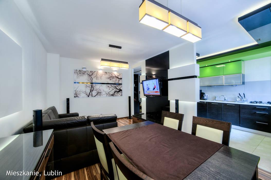 Living room by Auraprojekt,