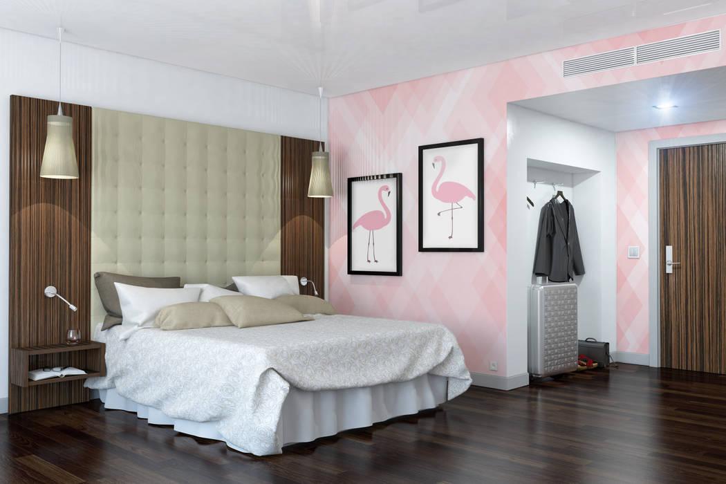 Flamingo Kamar Tidur Modern Oleh Pixers Modern