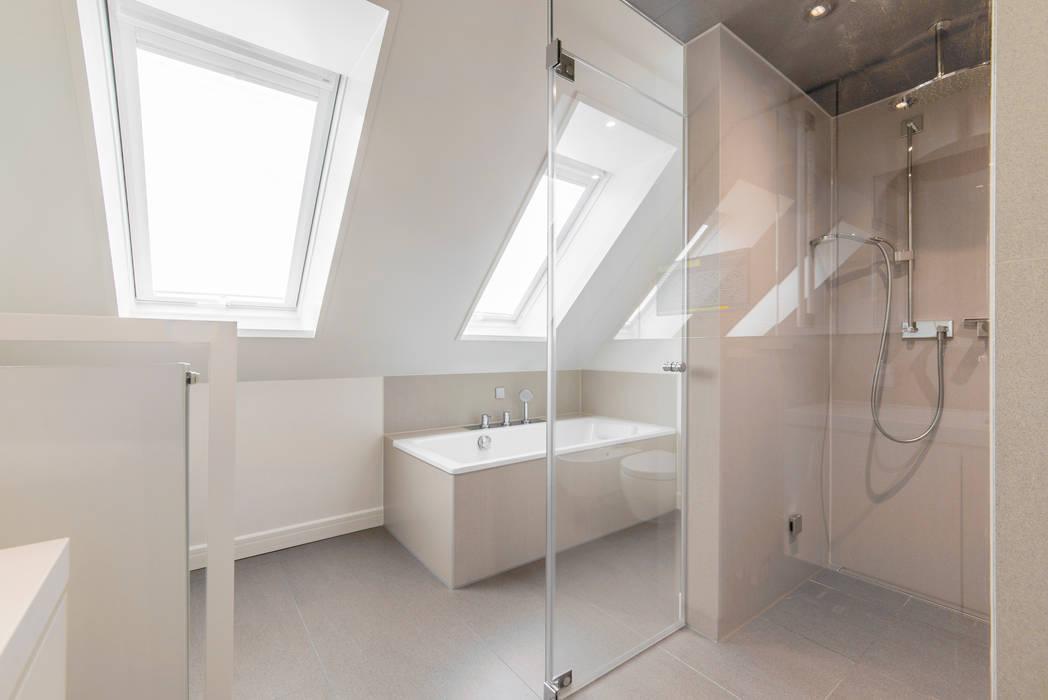 Bad mit dampfsauna moderne badezimmer von ohlde interior ...
