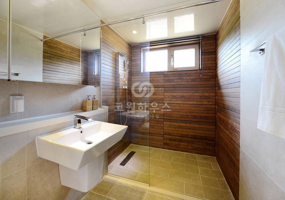 고급전원주택의 정석 68평형 모던 디자인 가우디3: 코원하우스의