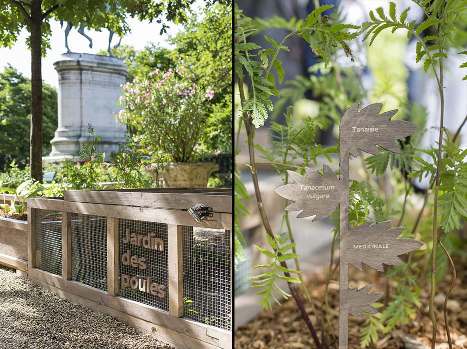 Étiquettes botaniques: Centre d'expositions de style  par Fertiles