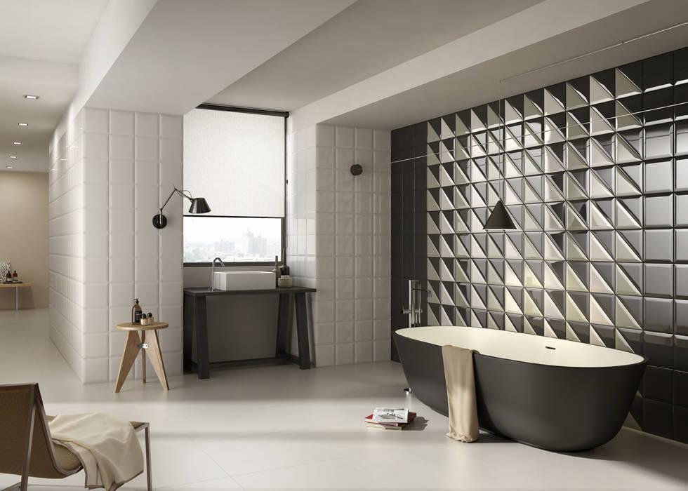3d tegels in de badkamer badkamer door sani bouw