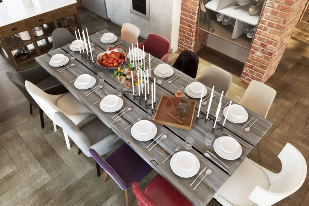 В чем прелесть больших столов