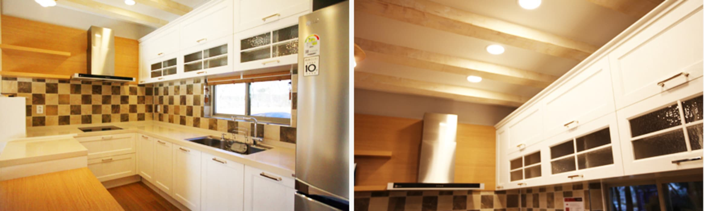 Kitchen by 지성하우징,
