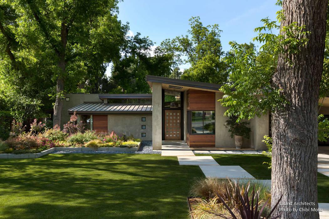 Jardins modernos por Chibi Moku Moderno Concreto