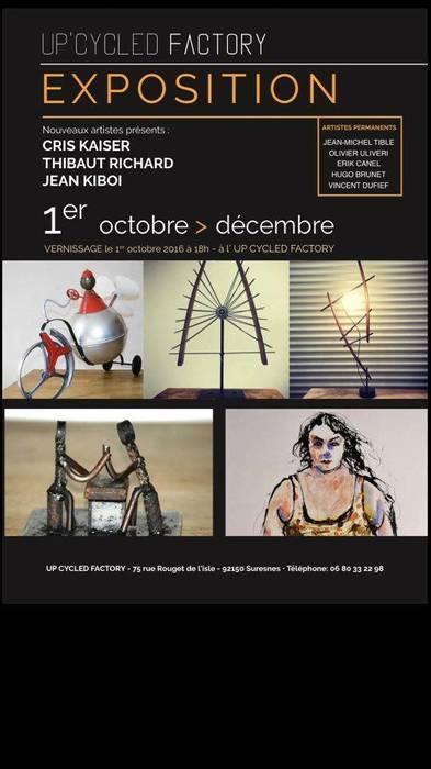 Up'cycled Factory  Suresnes: Centre d'expositions de style  par récup-éclaire (Thibaut Richard)