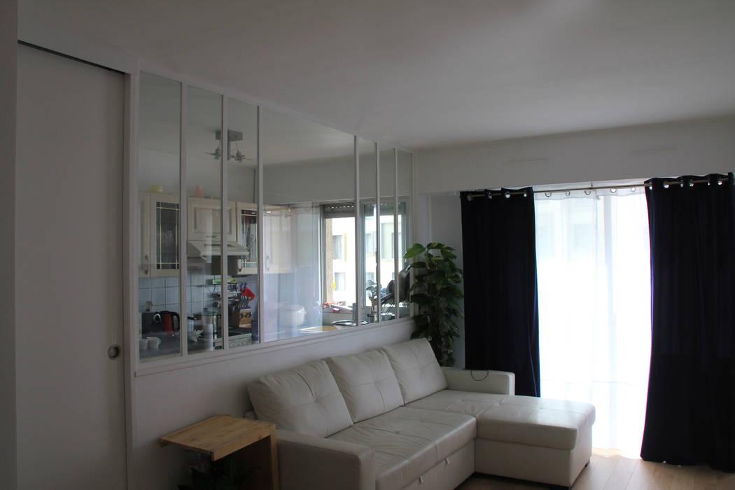 Salon: Salon de style de style Minimaliste par C'Design architectes d'intérieur