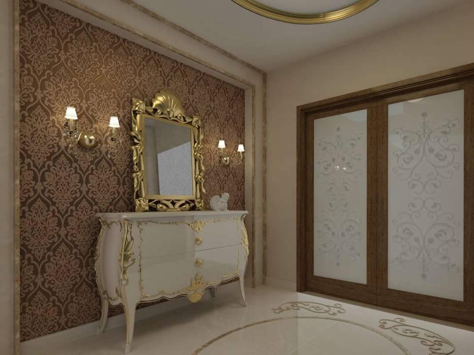 Pasillos, vestíbulos y escaleras modernos de VERO CONCEPT MİMARLIK Moderno