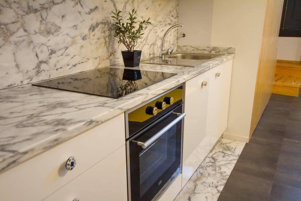 Cocinas de estilo minimalista de GRAU.ZERO Arquitectura Minimalista