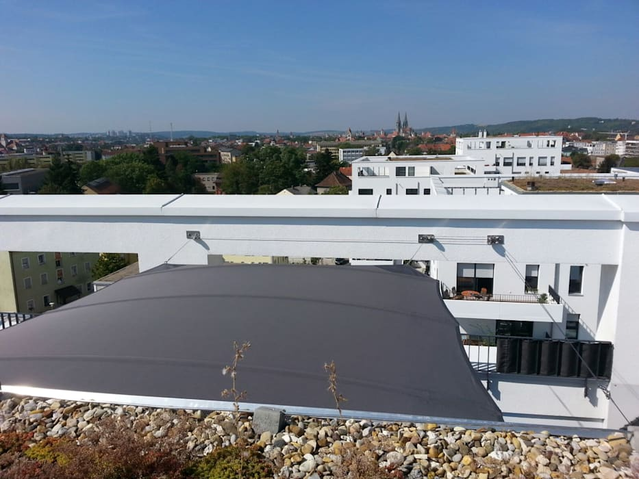 Modern Terrace by derraumhoch3 Modern