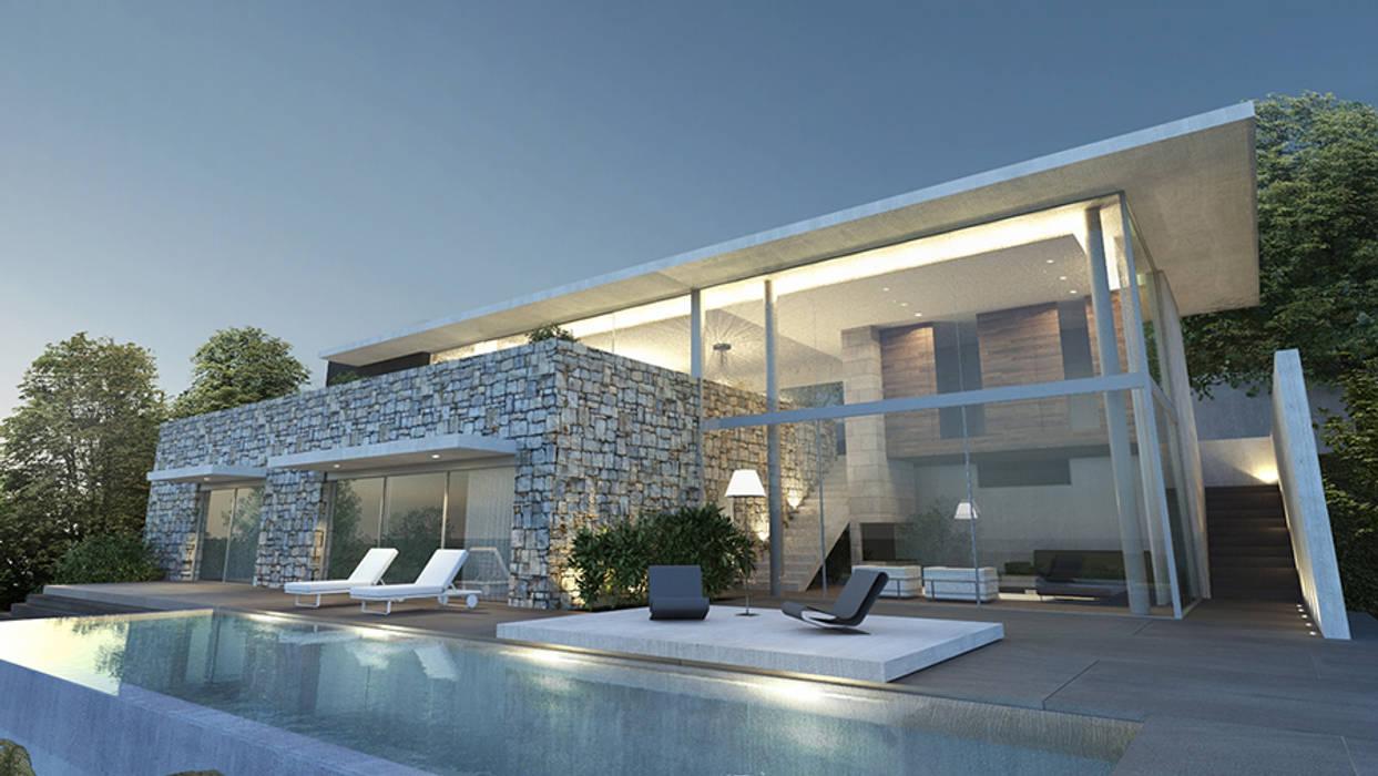 Case bellissime moderne giusta esaltare arquitectos with for Progetti interni di case moderne