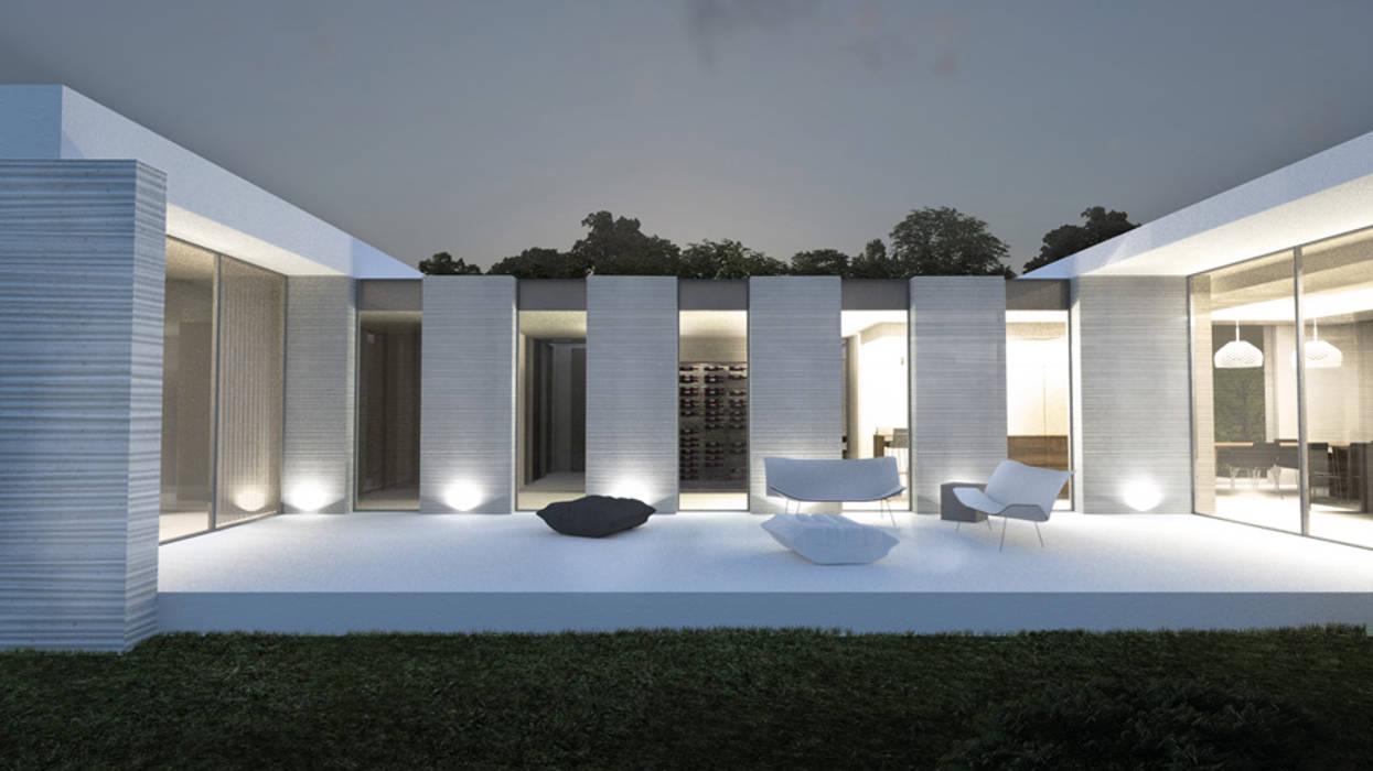 Maison Du0027architecte: Maisons De Style Par ARRIVETZ U0026 BELLE